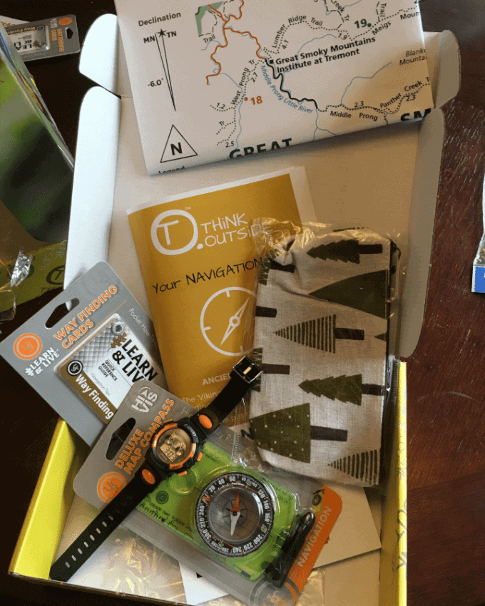 Think Outside Boxes Navigation Box