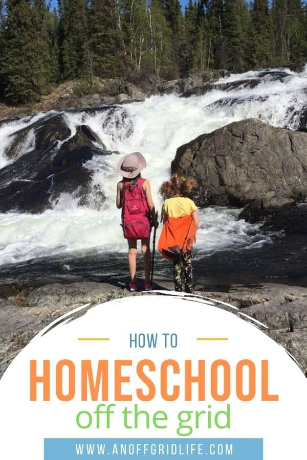 Learn how to homeschool off the grid in a remote area and tips for dealing with isolation and socialization too.