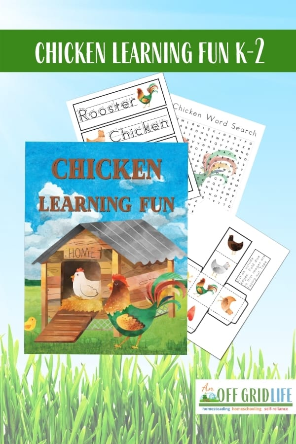 Chicken Learning Fun Pack for K-2