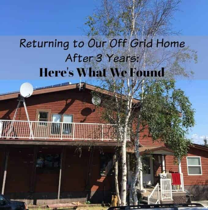 Returning to Our Off Grid Home After 3 Years: Here's What We Found