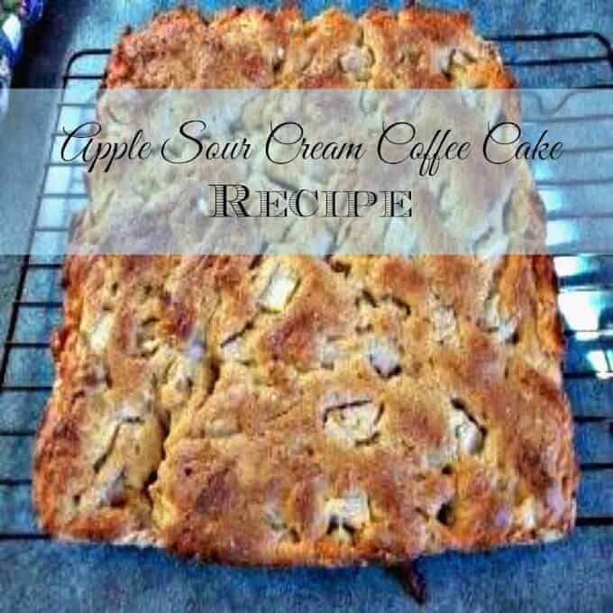 Coffee Cake Recipe Without Sour Cream