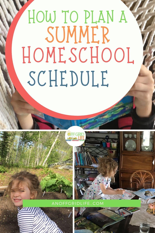Kids reading, gardening, and doing art