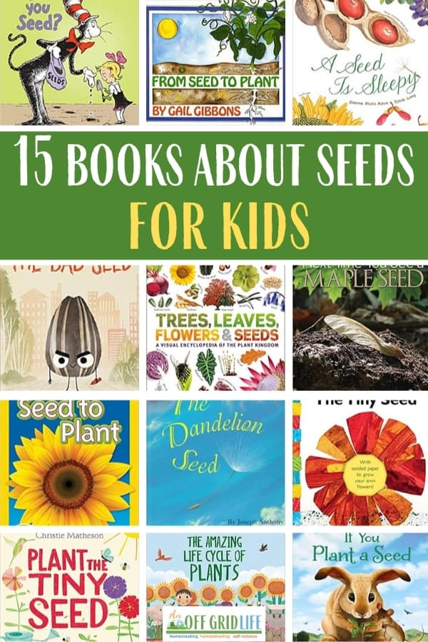 15 Books About Seeds for Kids