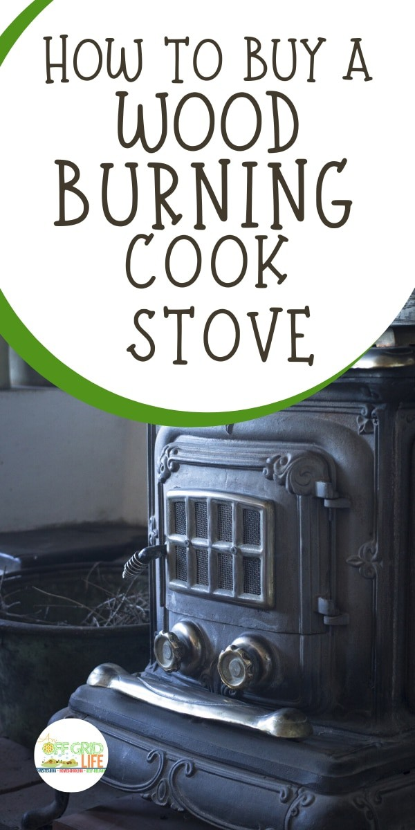 Old fashioned wood burning cook stove