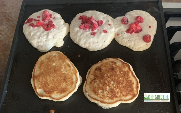 Almond Milk Pancakes Recipe