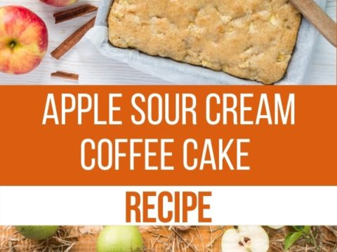 Apple Sour Cream Coffee Cake Recipe An Off Grid Life