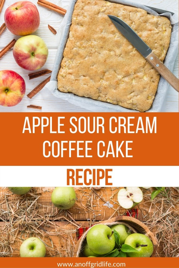 Apple Sour Cream Coffee Cake Recipe