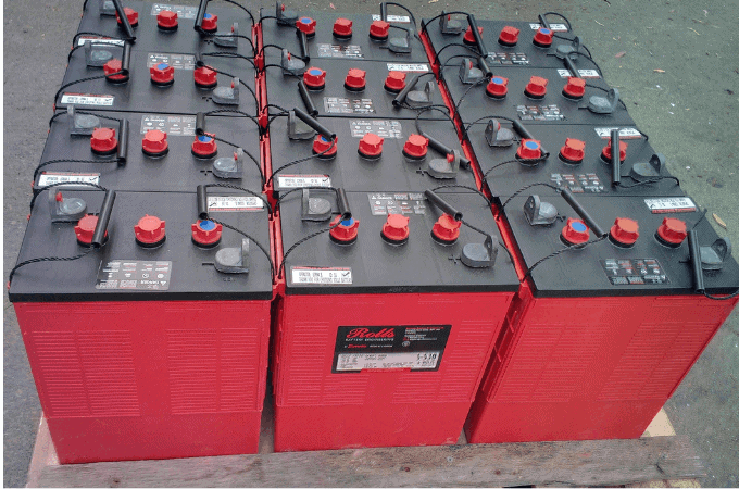 Batteries for Off The Grid