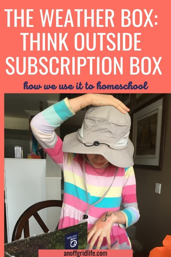 The Weather Box: Think Outside Subscription Box Review & Coupon Code