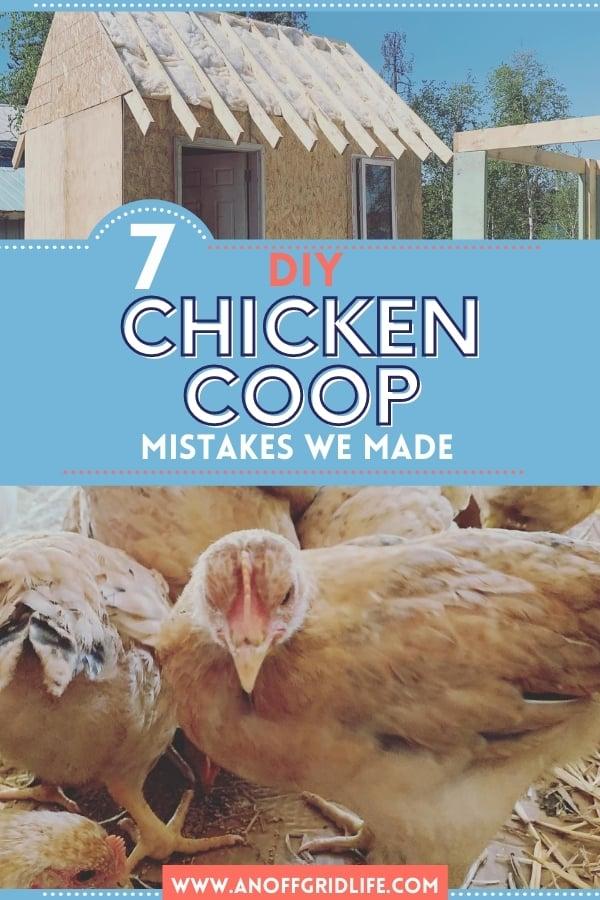 7 DIY Chicken Coop Mistakes We Made