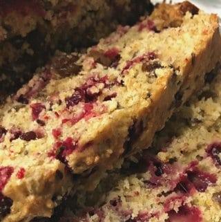 Healthy Cranberry Orange Loaf Recipe