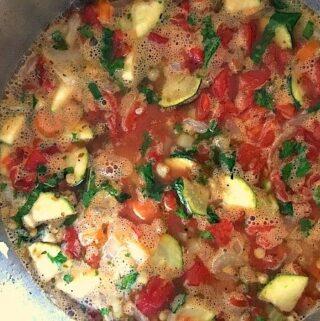 Harvest Homemade Vegetable Soup Recipe