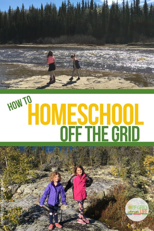 How to Homeschool off The Grid