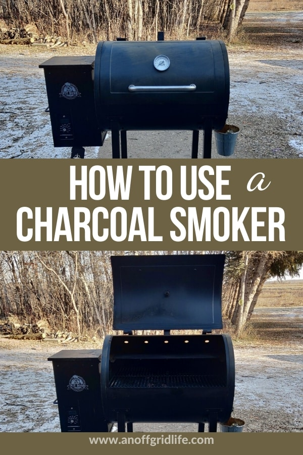 How to Use a Charcoal Smoker (1)