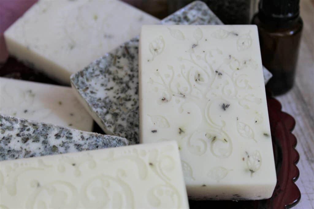 Goat milk soaps for sinus relief