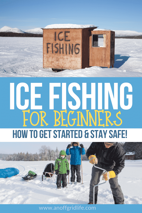 Ice Fishing for Beginners: How to Get Started
