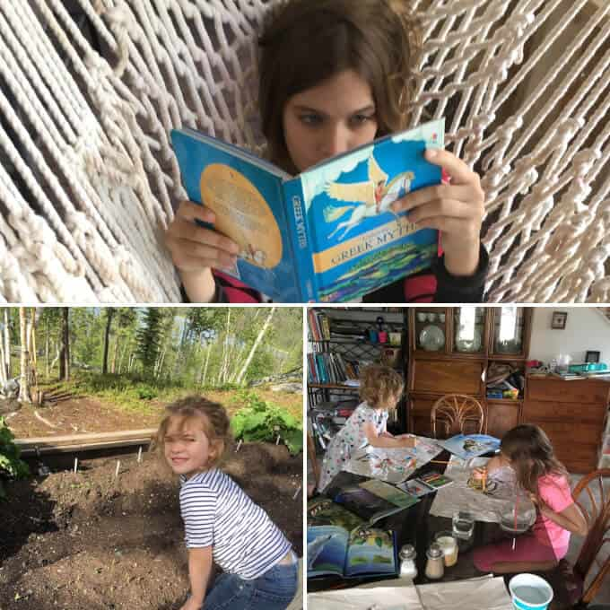 Leisurely Summer Reading Childs Play >> Homeschool Schedule Reading Writing And Getting Outdoors In The
