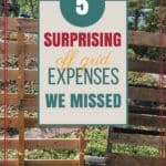 5 Surprising Off Grid Expenses We Missed #offgridexpenses #offthegridcosts #offgridbudget