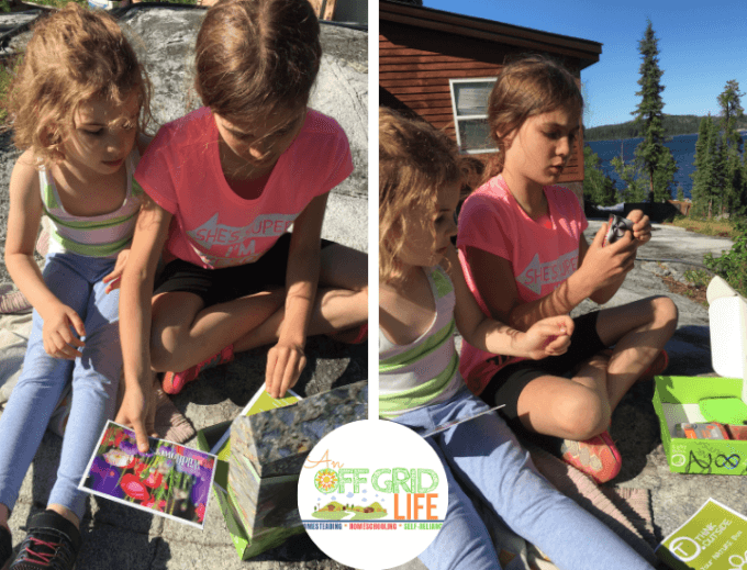 Getting Outdoors with the Think Outside Nature Box