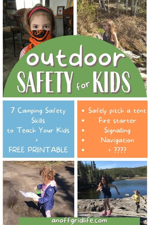 Outdoor safety for kids