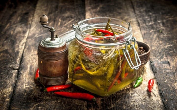 Pickling for Beginners - home pickled peppers