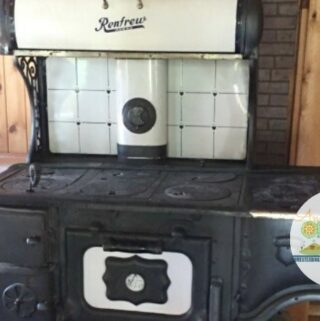 Restored early 1900 Renew Wood Burning Cook Stove
