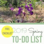 Use this Spring To Do List to get your off grid home or homestead organized when the weather warms. #offgridideas #offgridhacks #offgridhomes #offgridlife