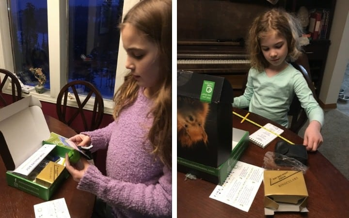 Kids unboxing their Subscription Boxes for Kids