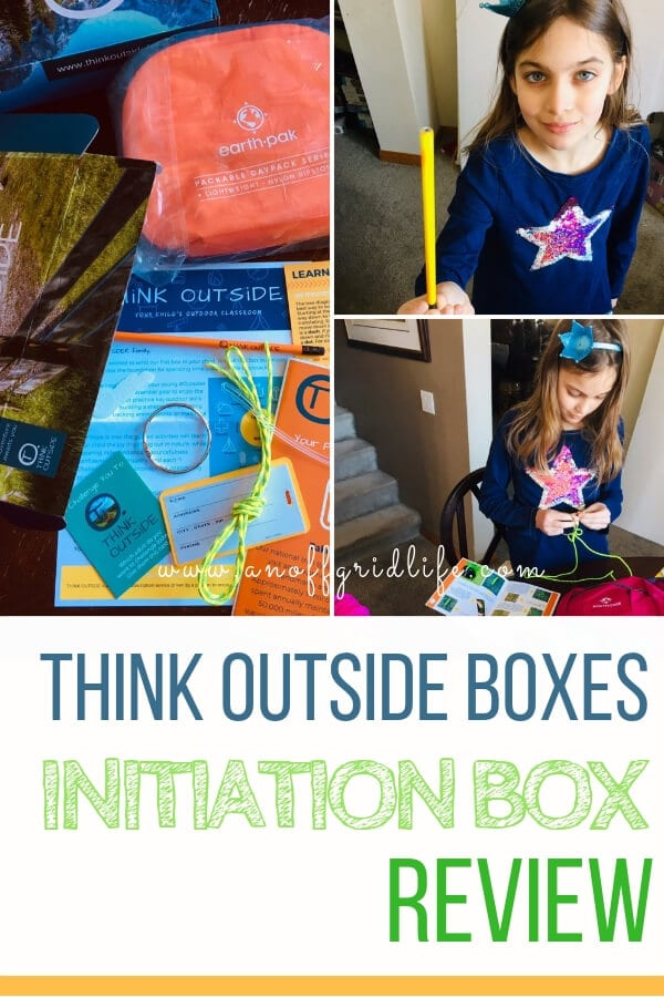 Learn how we use the THiNK OUTSIDE BOXES Initiation Box in our homeschool and grab our coupon code FIRSTBOX #thinkoutsideboxes #thinkoutsideboxescouponcode