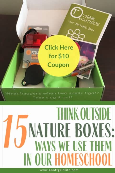 Think Outside Nature Boxes: 15 ways we use them in our homeschool