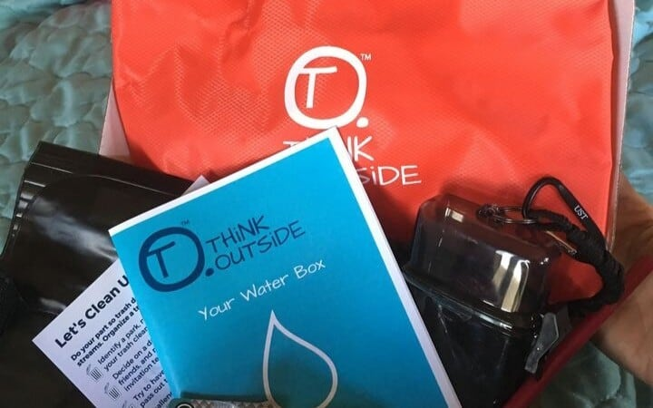 Think Outside Boxes Water Box Contents
