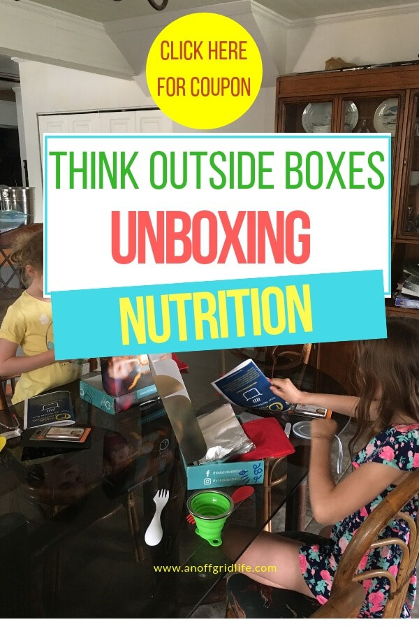 Think Outside Boxes Unboxing: The Nutrition Box | An Off