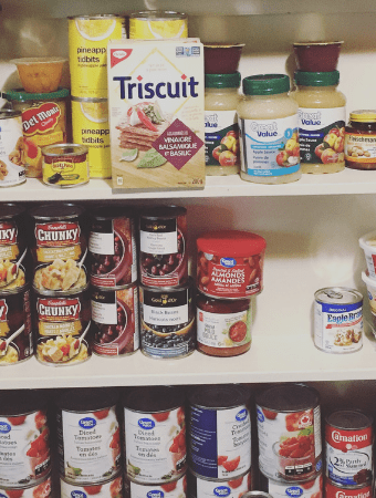 Getting organized, saving money, and becoming more self-reliant with the 2019 Pantry and Freezer Challenge #2019pantrychallenge #2019freezerchallenge #pantrygoals #offgridlife #homesteadkitchen #offgridkitchen