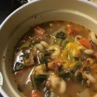 White Bean Kale Soup with Sausage
