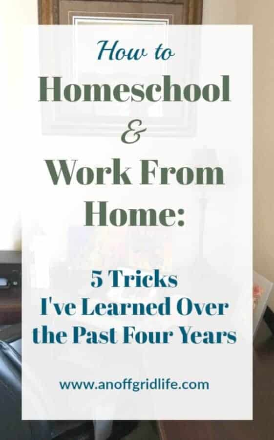 How to Homeschool and Work From Home #workinghomeschoolmoms #wahmhomeschool #homeschoolingschedules #homeschoolorganization