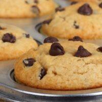 Eggless Pumpkin Chocolate Chip Muffin Recipe